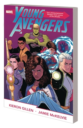 Picture of YOUNG AVENGERS BY GILLEN MCKELVIE COMPLETE COLLECTION TPB