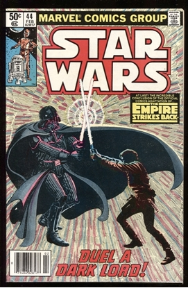 Picture of STAR WARS (1977) #44 9.4 NM (NEWSSTAND)