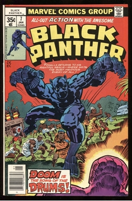 Picture of BLACK PANTHER (1977) #7 9.4 NM