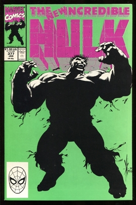Picture of INCREDIBLE HULK (1962) #377 9.4 NM