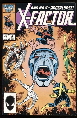 Picture of X-FACTOR (1986) #6 9.4 NM