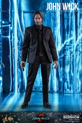 Picture of JOHN WICK HOT TOYS  1:6 SCALE FIGURE SCALE