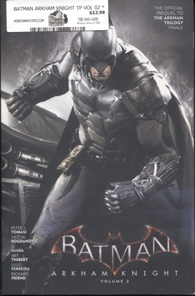 Picture of BATMAN ARKHAM KNIGHT TP VOL 02 *