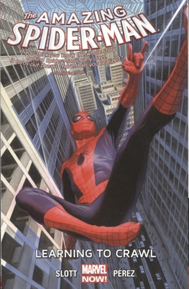 Picture of AMAZING SPIDER-MAN TP 01.1 LEARNING TO CRAWL