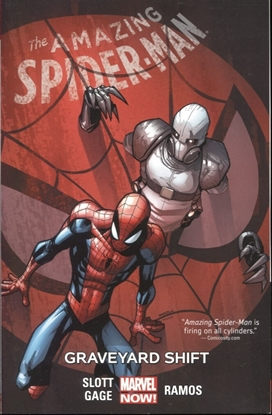 Picture of AMAZING SPIDER-MAN TP VOL 04 GRAVEYARD SHIFT