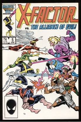 Picture of X-FACTOR (1986) #5 9.0 VF/NM