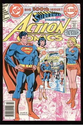 Picture of ACTION COMICS (1938) #500 9.2 NM-