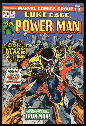 Picture of POWER MAN (1974) #17 9.0 VF/NM