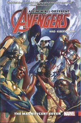 Picture of ALL NEW ALL DIFFERENT AVENGERS TP VOL 01 MAGNIFICENT SEVEN
