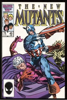 Picture of NEW MUTANTS (1983) #40 9.4 NM