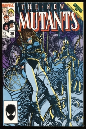Picture of NEW MUTANTS (1983) #36 9.0 VF/NM