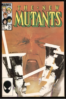 Picture of NEW MUTANTS (1983) #26 9.0 VF/NM