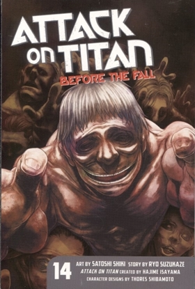 Picture of ATTACK ON TITAN BEFORE THE FALL GN VOL 14 (MR)