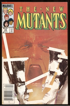 Picture of NEW MUTANTS (1983) #26 9.0 VF/NM NEWSSTAND