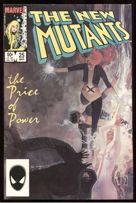 Picture of NEW MUTANTS (1983) #25 9.4 NM