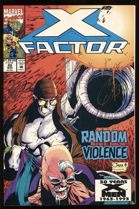 Picture of X-FACTOR (1986) #88 8.0 VF SIGNED BY QUESADA