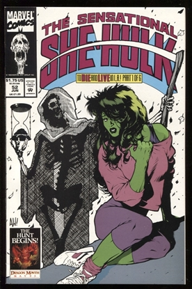 Picture of SENSATIONAL SHE-HULK #52 9.6 NM+