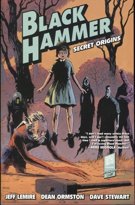 Picture of BLACK HAMMER TP VOL 1 SECRET ORIGINS