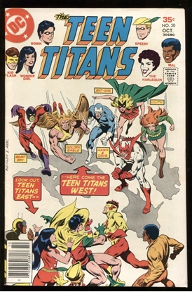 Picture of TEEN TITANS (1966) #50 9.0 VF/NM