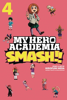 Picture of MY HERO ACADEMIA SMASH GN VOL 4
