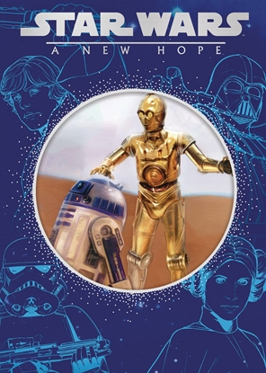 Picture of STAR WARS NEW HOPE STORYBOOK DIE CUT COVER