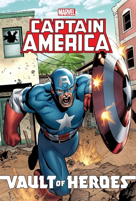 Picture of MARVEL VAULT OF HEROES CAPTAIN AMERICA TPB