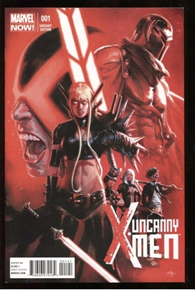 Picture of UNCANNY X-MEN (2012) #1 1:50 DELL'OTTO VARIANT 9.4 NM
