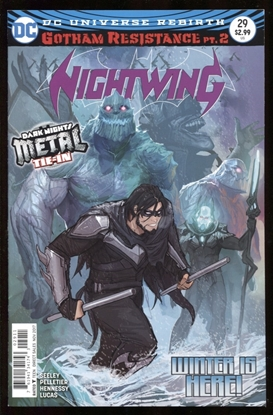 Picture of NIGHTWING #29 (METAL)