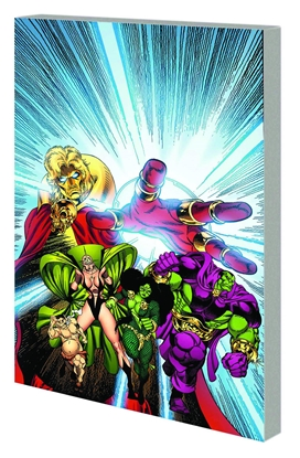 Picture of INFINITY GAUNTLET AFTERMATH TPB