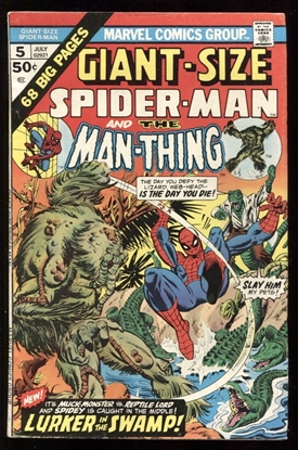 Picture of GIANT SIZE SPIDER-MAN #5 8.0 VF