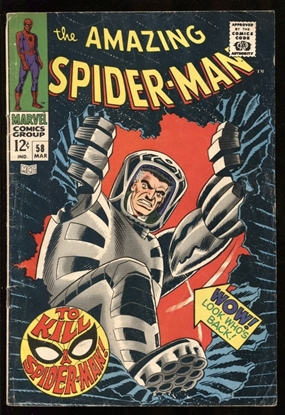 Picture of AMAZING SPIDER-MAN (1963) #58 4.0 VG