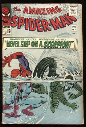 Picture of AMAZING SPIDER-MAN (1963) #29 3.5 VG-