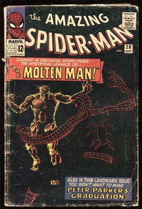 Picture of AMAZING SPIDER-MAN (1963) #28 2.0 GD