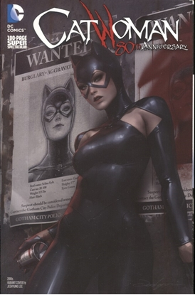 Picture of CATWOMAN 80TH ANNIV 100 PAGE SUPER SPECT #1 2010S JEEHYUNG L