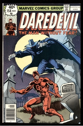 Picture of DAREDEVIL (1964) #158 9.2 NM- SIGNED BY JANSON