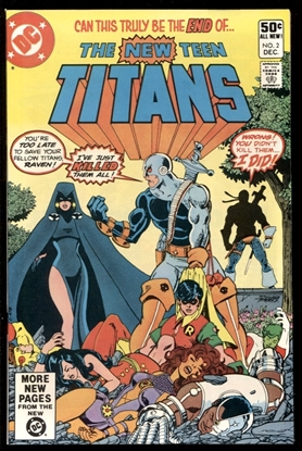 Picture of NEW TEEN TITANS (1980) #2 9.6 NM+