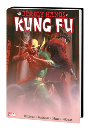 Picture of DEADLY HANDS OF KUNG FU OMNIBUS HC VOL 1 DELLOTTO CVR