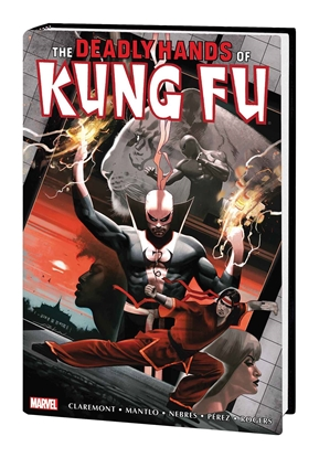 Picture of DEADLY HANDS OF KUNG FU OMNIBUS HC VOL 2 DEKAL VARIANT COVER (MR)