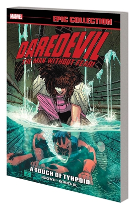 Picture of DAREDEVIL EPIC COLLECTION TPB TOUCH OF TYPHOID
