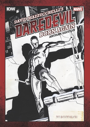 Picture of DAVID MAZZUCHELLI'S DAREDEVIL BORN AGAIN ARTISAN EDITION TPB
