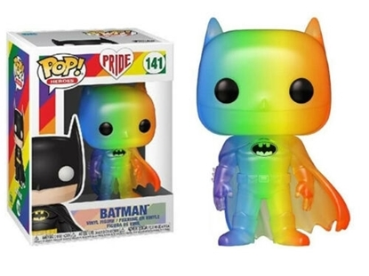 Picture of FUNKO POP PRIDE IT GETS BETTER PROJECT BATMAN #141 NEW