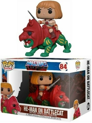 Picture of FUNKO POP RIDES MASTERS OF THE UNIVERSE HE-MAN ON BATTLECAT #84 NEW