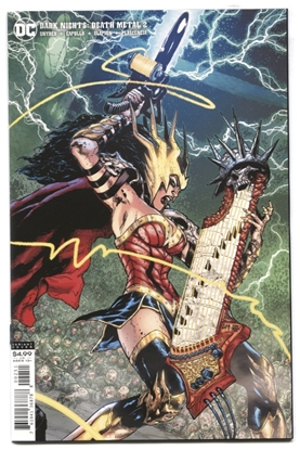 Picture of DARK NIGHTS DEATH METAL #2 (OF 6)  1:25 VARIANT COVER NM