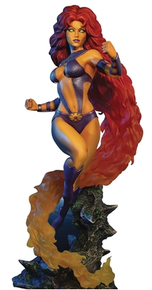 Picture of DC HEROES STARFIRE 16 INCH MAQUETTE
