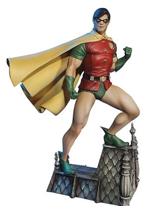 Picture of BATMAN SUPER POWERS ROBIN MAQUETTE STATUE