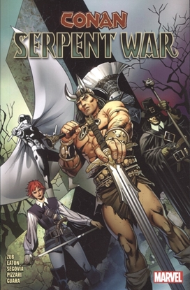 Picture of CONAN SERPENT WAR TP