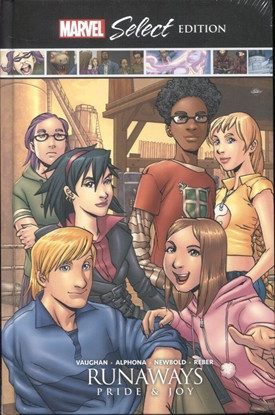 Picture of RUNAWAYS PRIDE & JOY MARVEL SELECT HC