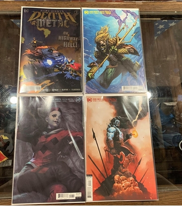 Picture of DARK NIGHTS DEATH METAL (2020) #2 4 COVER SET NM