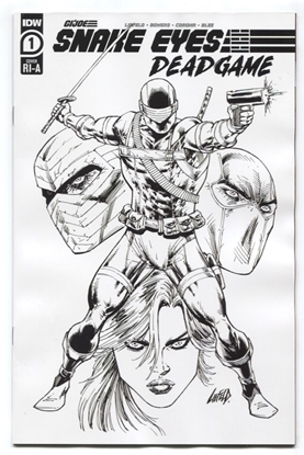 Picture of SNAKE EYES DEADGAME #1 1:10 VARIANT COVER NM