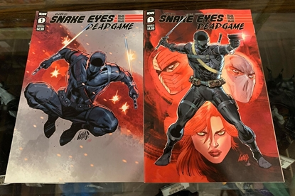Picture of SNAKE EYES DEADGAME (2020) #1 CVR A & B ROB LIEFELD 2 COVER SET NM